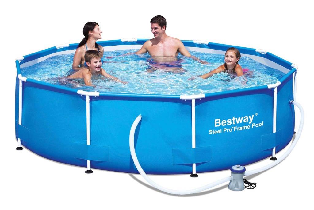 Bestway Steel Pro Frame zwembad (305 cm), Blauw