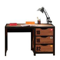 Vipack bureau Alex, Bruin/zwart