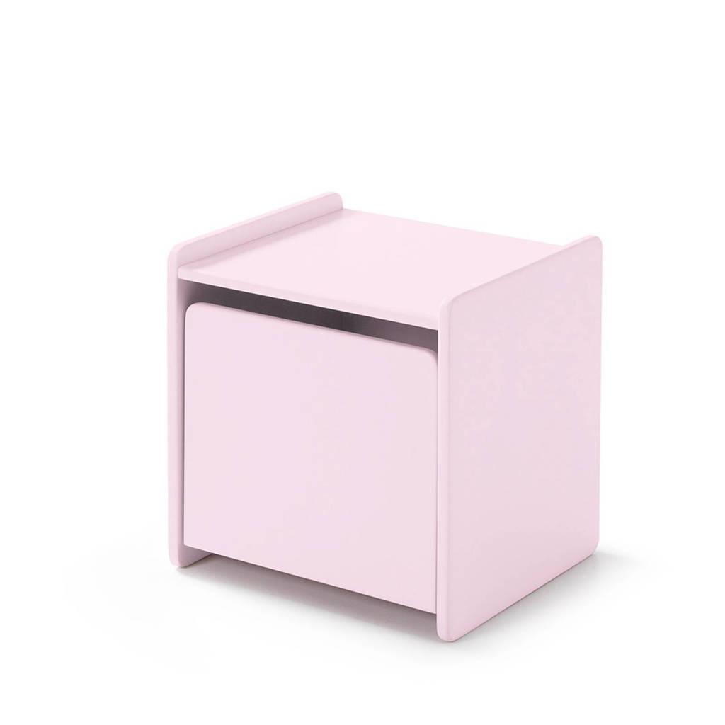 Vipack nachtkastje Kiddy, Oud roze