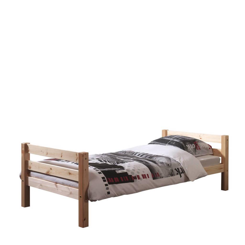 Vipack eenpersoonsbed Pino (90x200 cm), Bruin