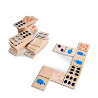 BS Toys Fat animal dominoes