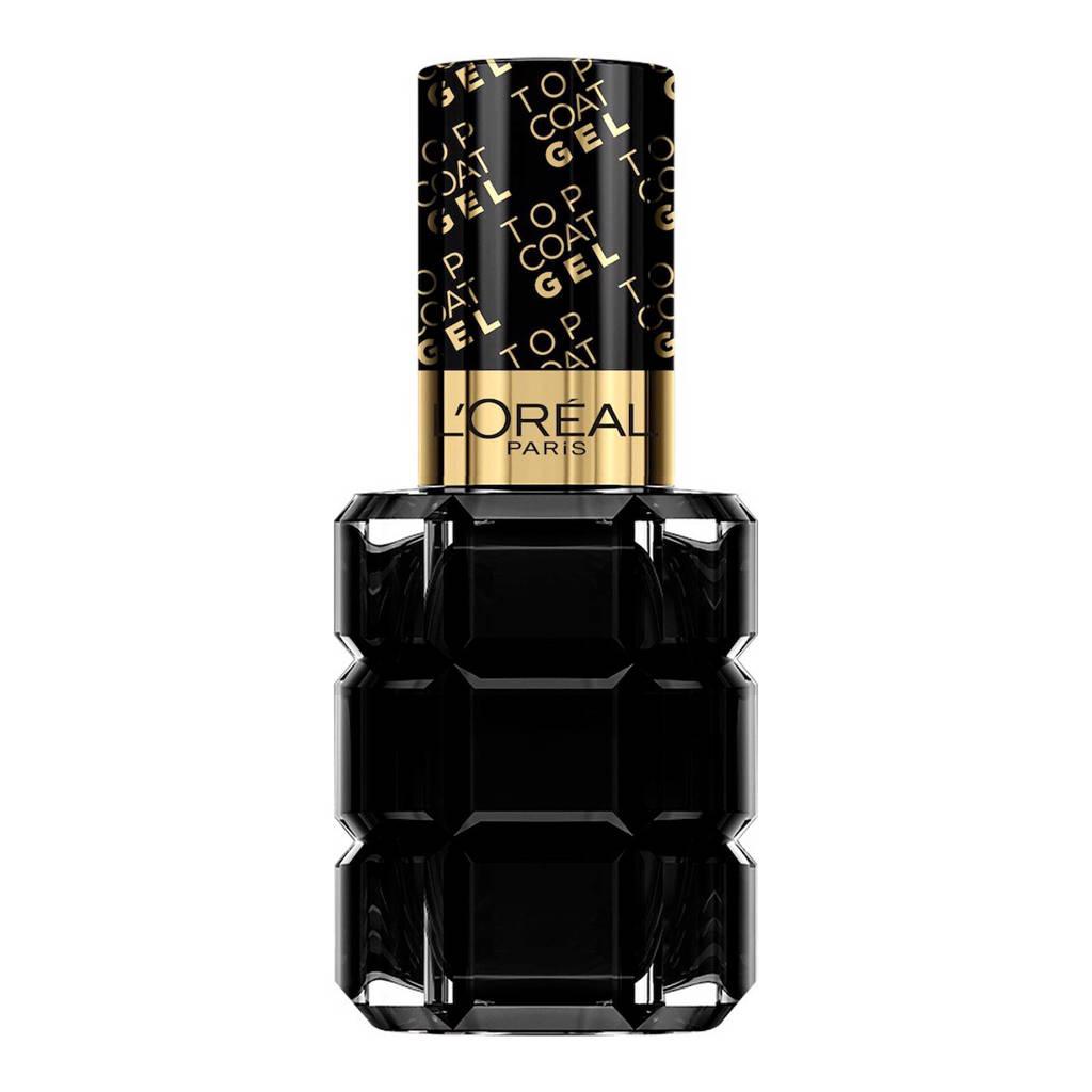 L'Oréal Paris Color Riche L'Huile Gel Ultime - Topcoat, Zwart