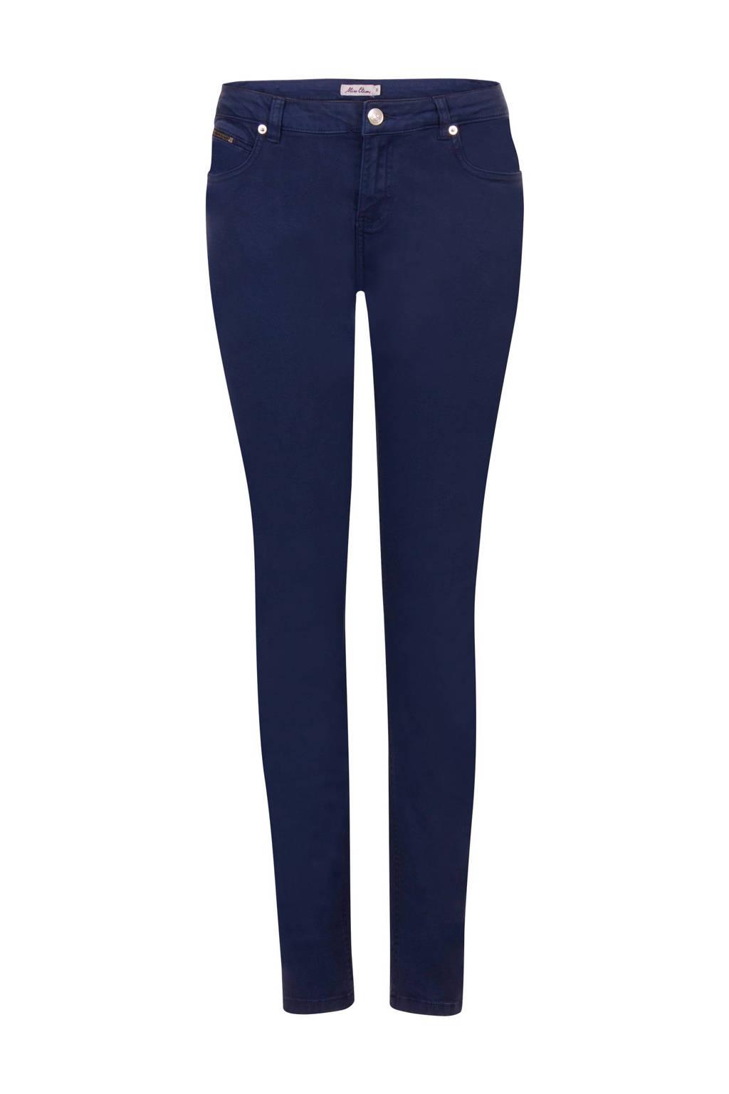 Miss Etam Regulier slim fit broek 32 inch, Blauw