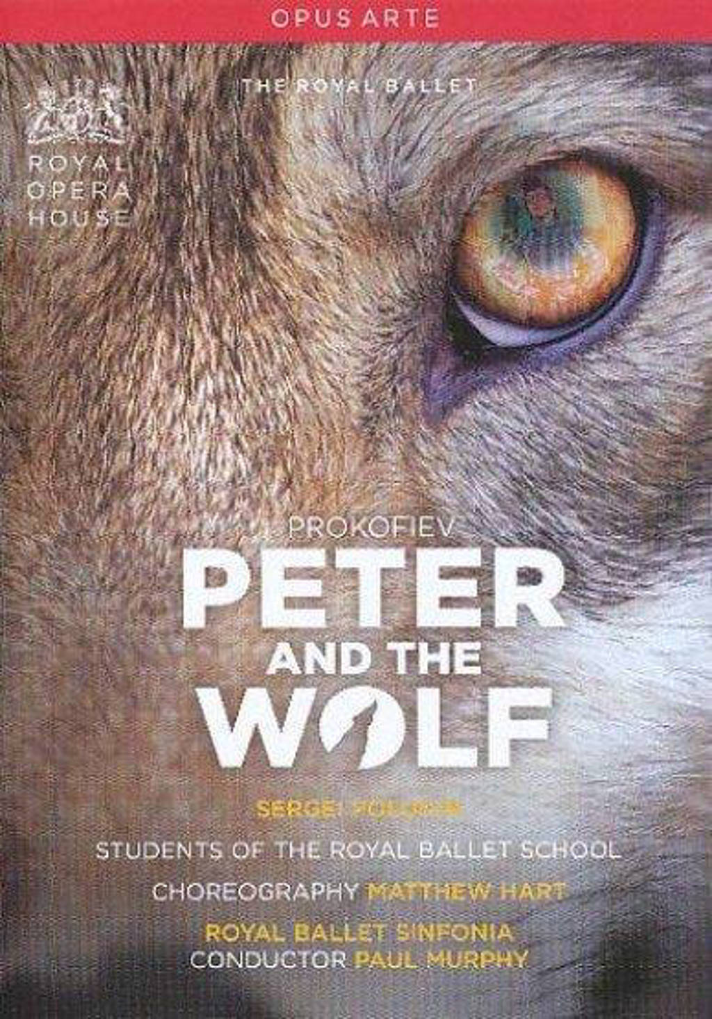 Polunin/Kemp/Royal Ballet Sinfonia - Peter And The Wolf (DVD)