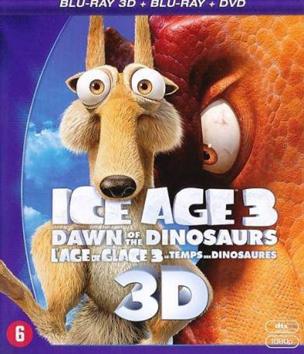 Ice age 3 (3D) pack (Blu-ray)