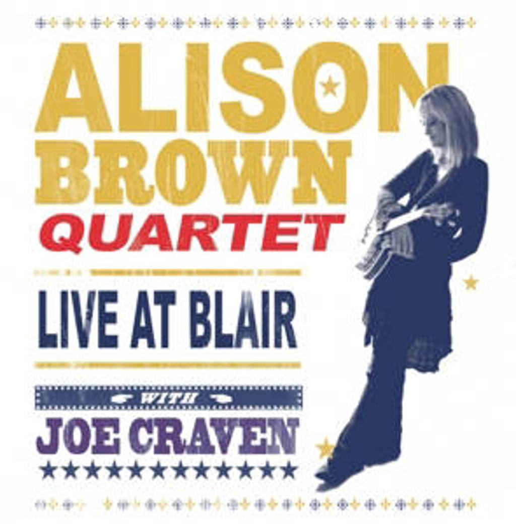 Alison Brown Quartet W. Joe Craven - Live At Blair (DVD)