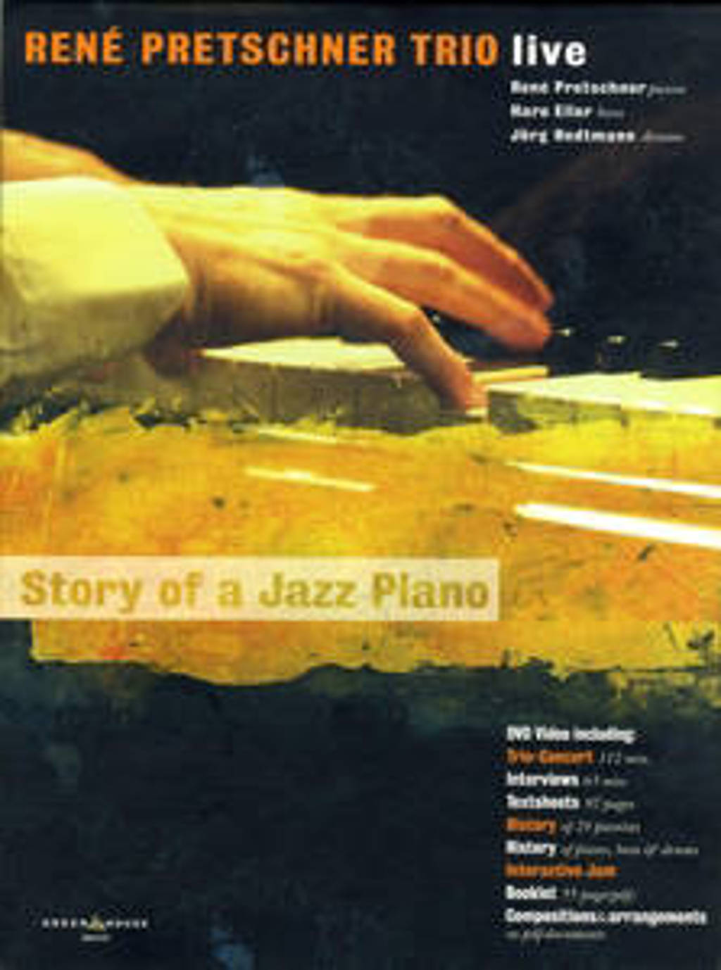 Live - Story Of A Jazz Piano (DVD)