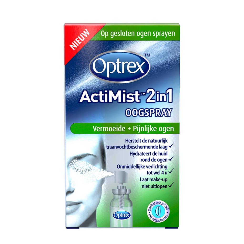 Optrex ActiMist 2 in 1 Oogspray- Vermoeide en Pijnlijke Ogen - 10 ml