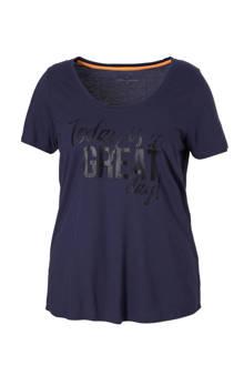 sport T-shirt met opdruk