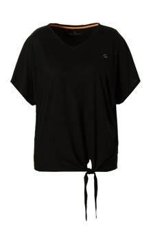 T-shirt met strik detail
