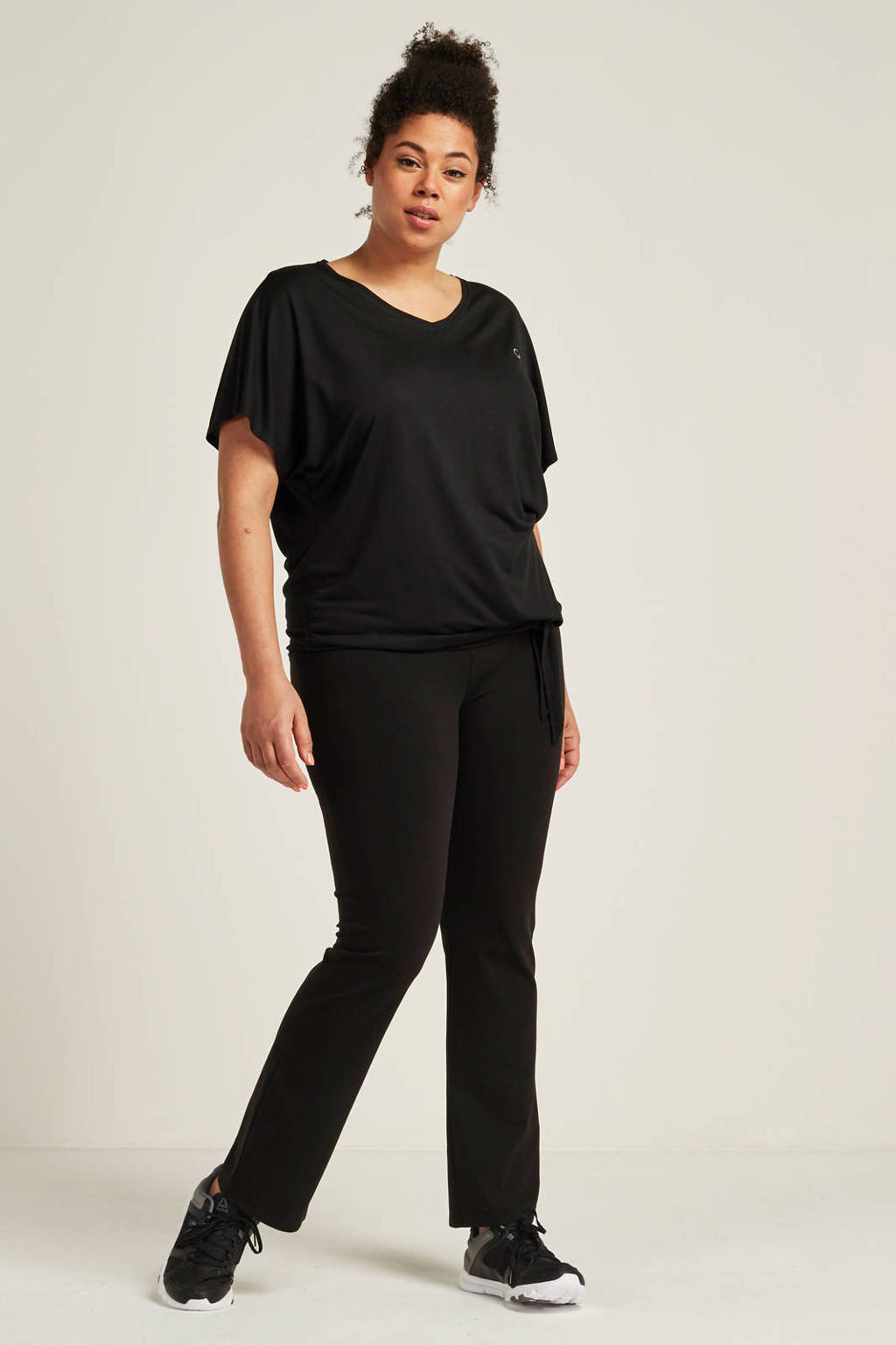 whkmp's great looks sport katoenen broek, Zwart