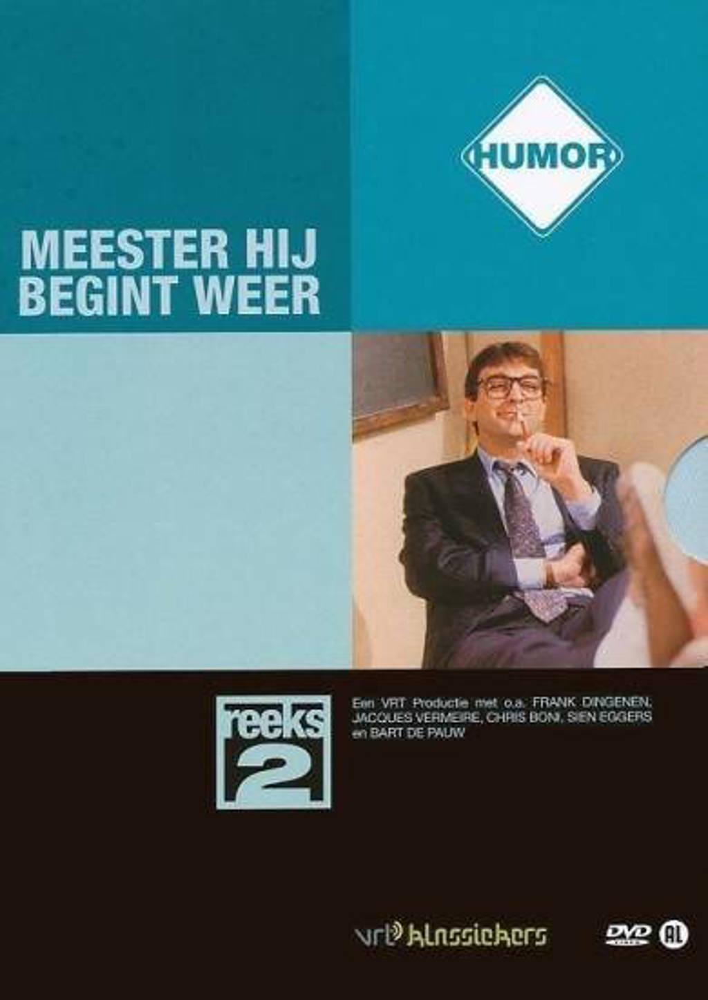 Meester hij begint weer - Seizoen 2 (DVD)