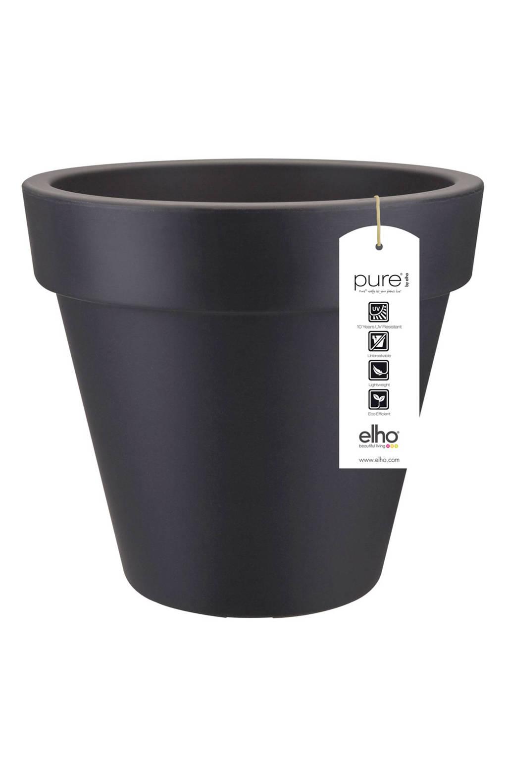 Elho bloempot pure round (ø60 cm), Antractiet