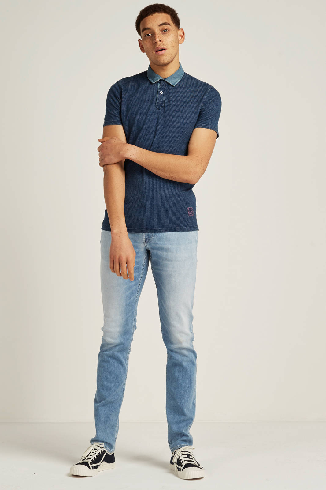 416a13a259c Pepe Jeans Keith slim fit polo