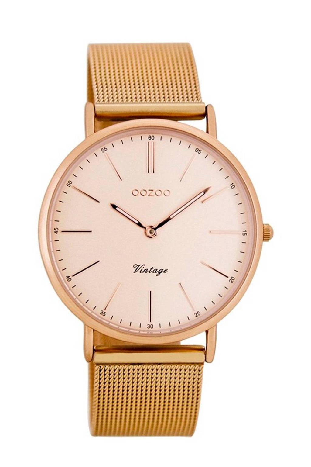 OOZOO Vintage horloge - C7399, Rose