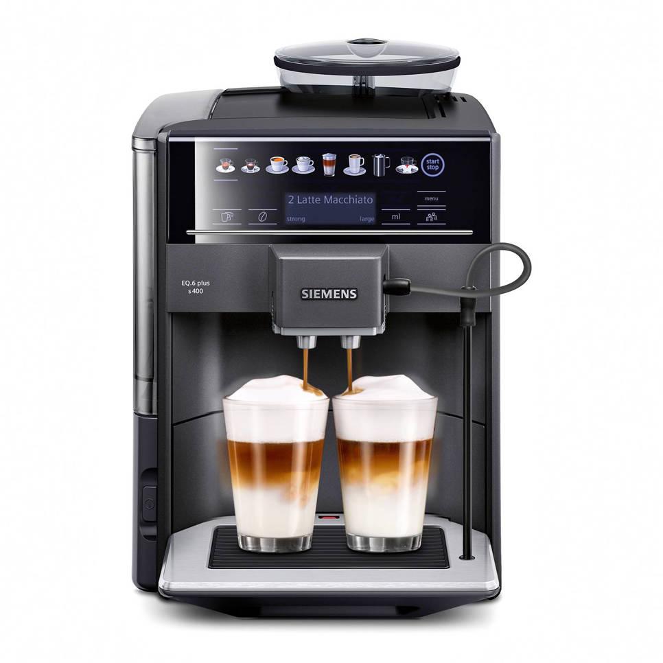 Siemens TE654319RW EQ.6 Plus s400 koffiemachine, Antraciet