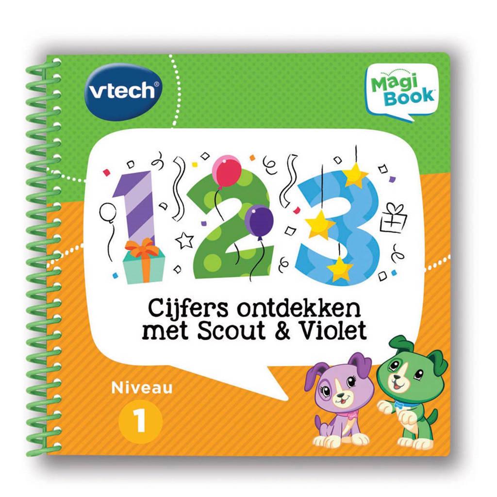 VTech  MagiBook cijfers ontdekken met Scout & Violet