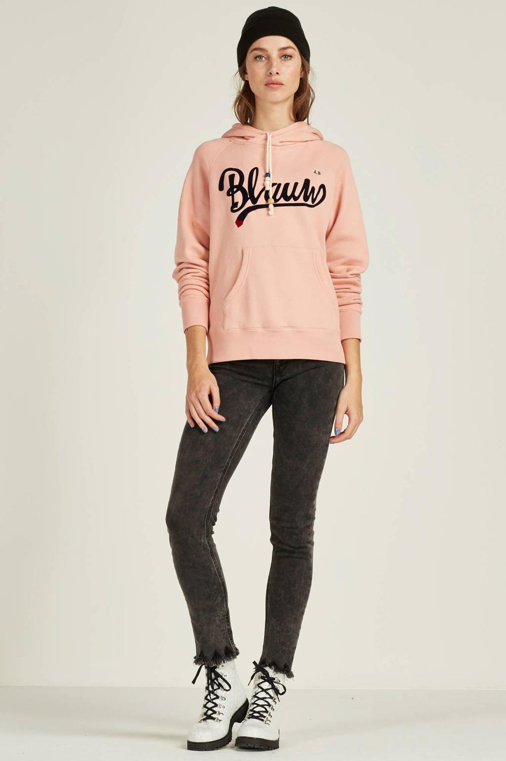 0cb1430b4e8 Scotch & Soda Blauw sweater, Roze/donkerblauw