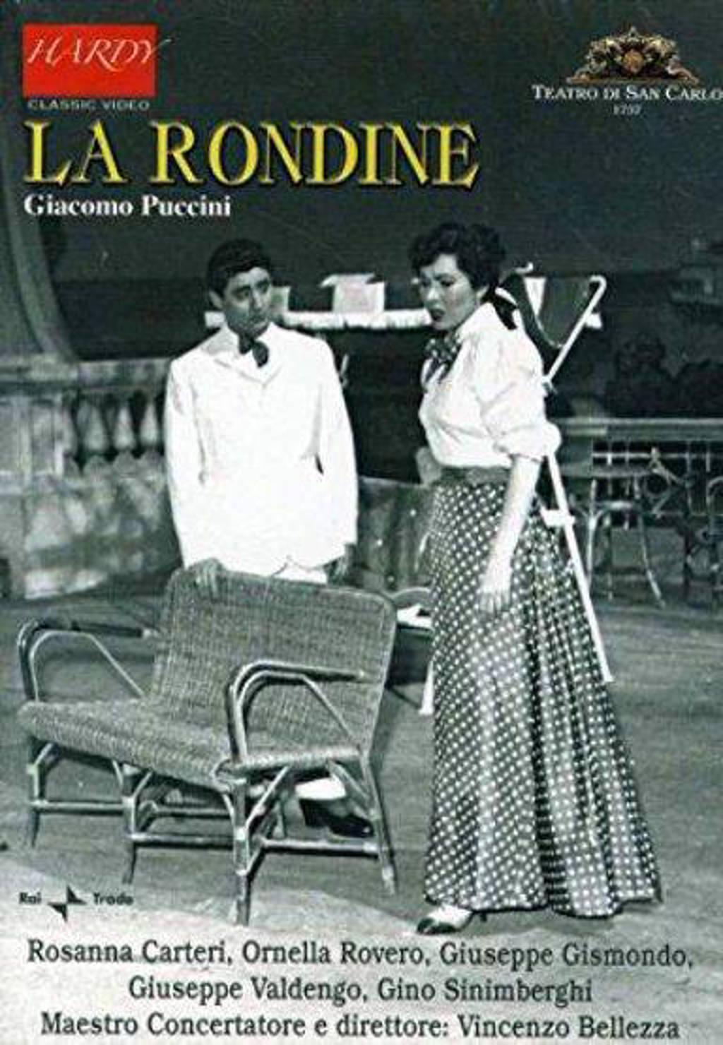 Napels 1958 La Rondine - Ornella Rovero,Giuseppe Valdengo,Gi (DVD)
