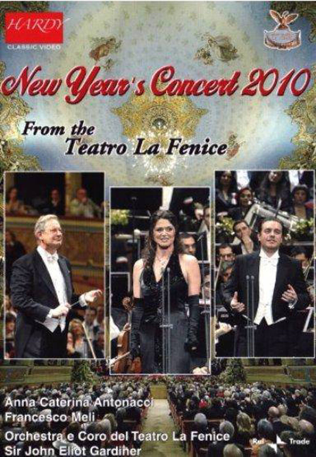 New Years Concert 2010 - Sir John Eliot Gardiner,Anna Cateri (DVD)