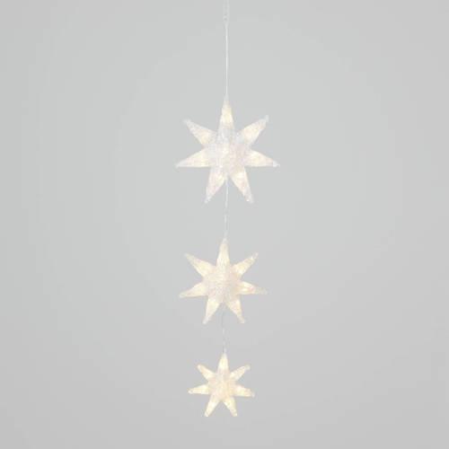 Konstsmide sterrensnoer 6136 24L LED warmwit 24V 60 cm binnen