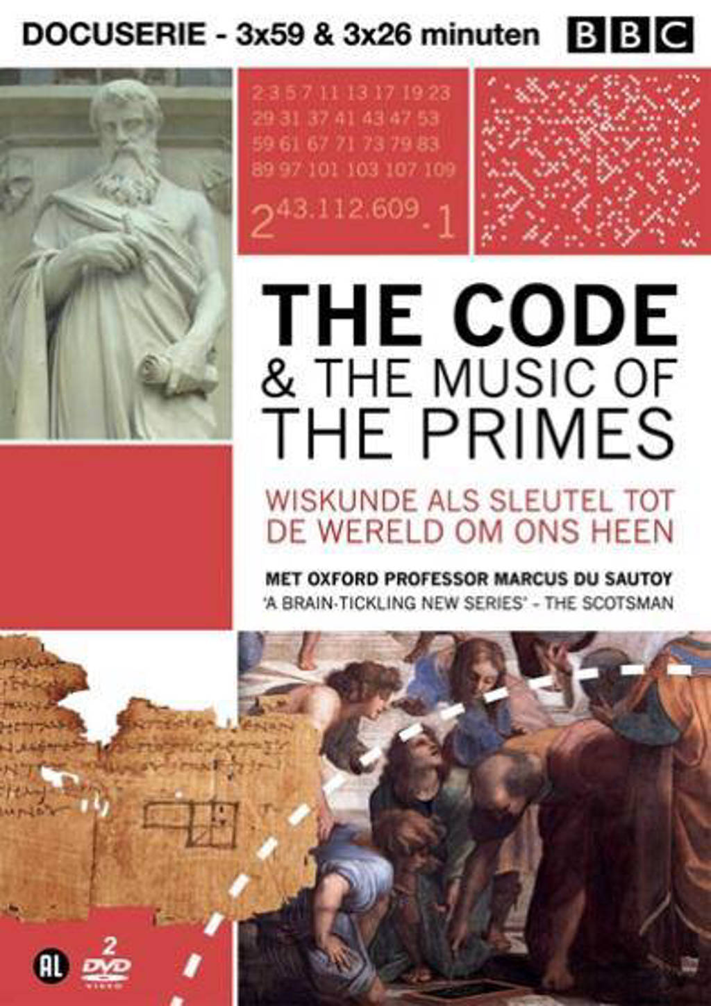 Code & the music of the primes (DVD)