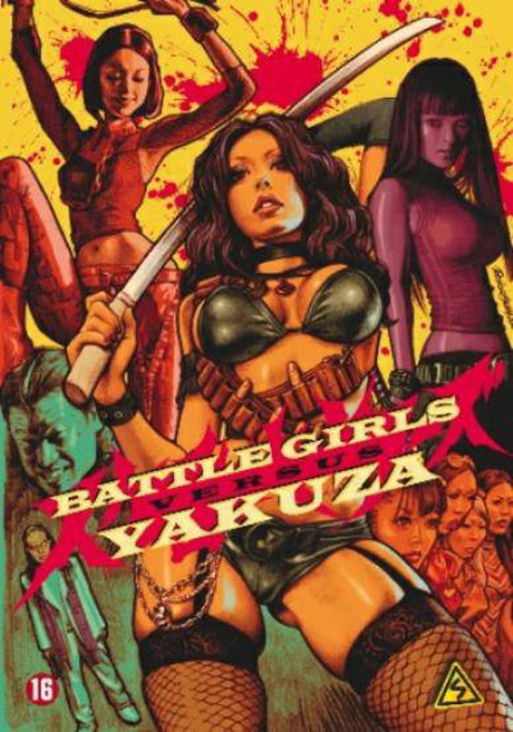 Battle girls versus Yakuza (DVD)
