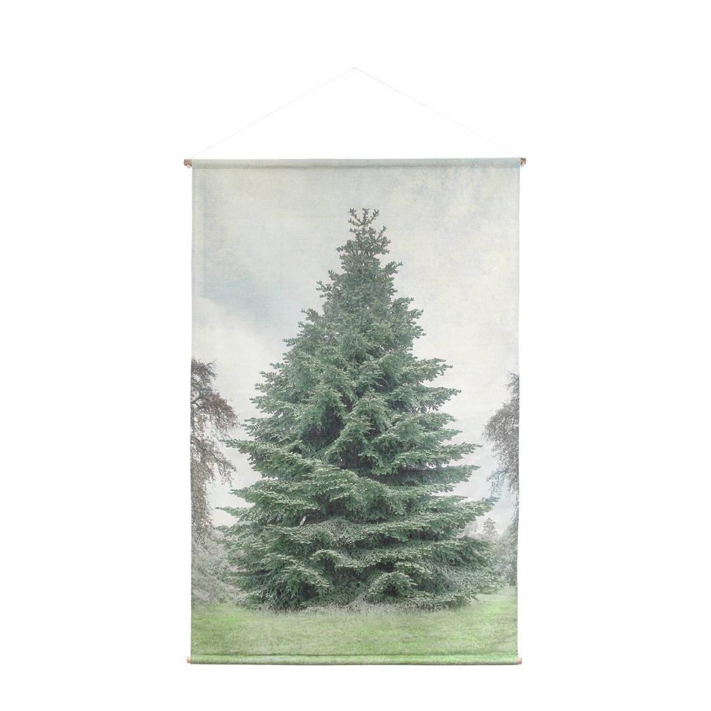 HKliving schoolkaart kerstboom (124x186 cm), 186x124x2,5 cm