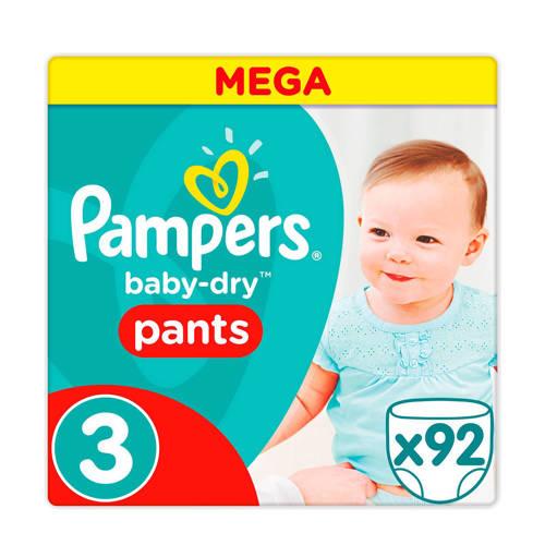Pampers Baby-Dry Pants maat 3 (5 - 9 kg) 92 luierbroekjes kopen