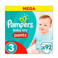 Pampers Baby-Dry Pants maat 3 (5 - 9 kg) 92 luierbroekjes