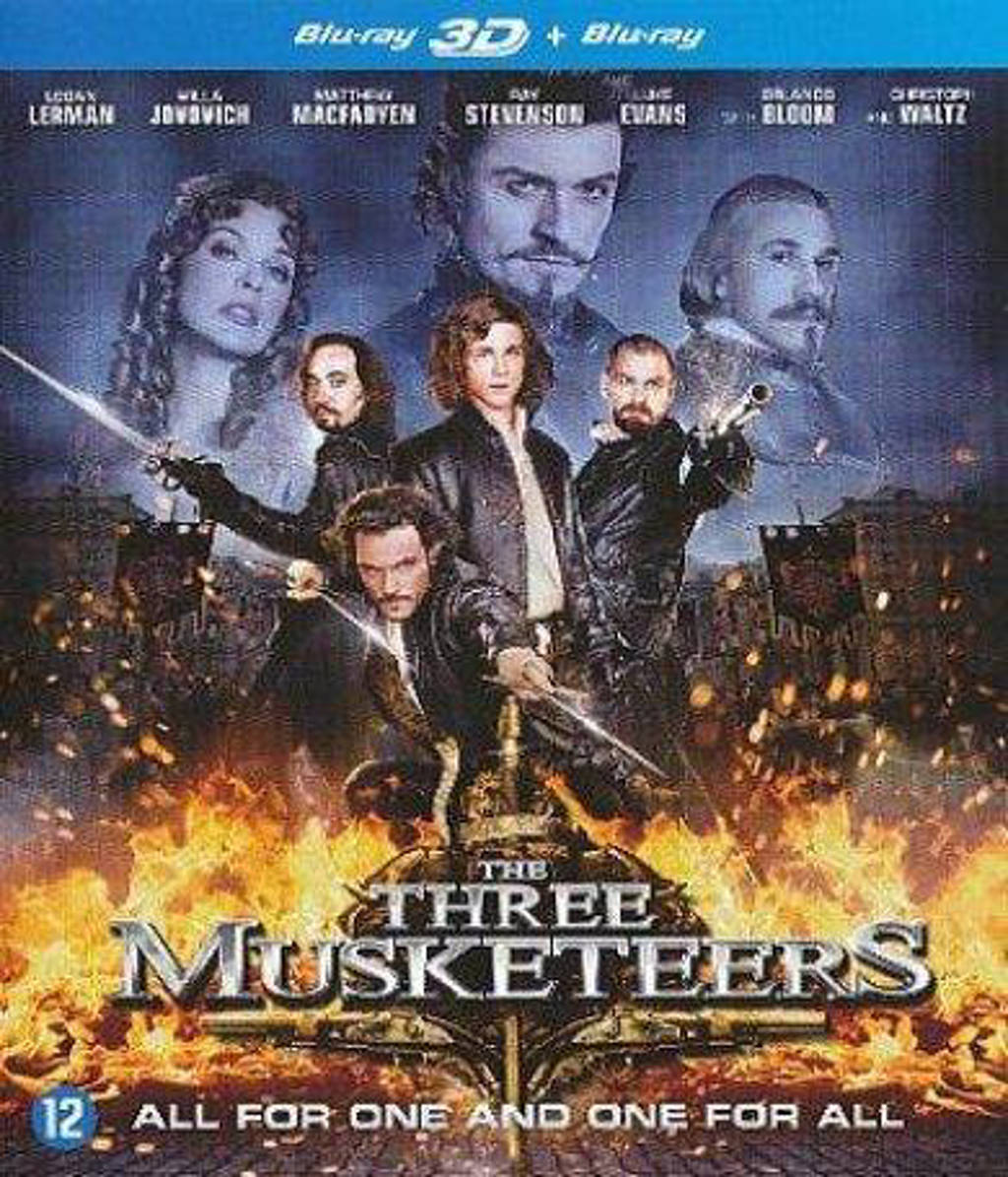 Three musketeers (3D) (Blu-ray)