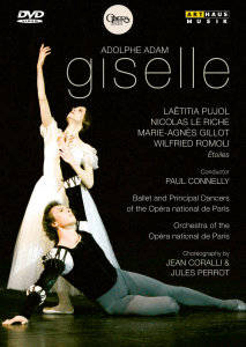 Pujol,Le Riche,Gillot - Giselle Parijs 2006 (DVD)