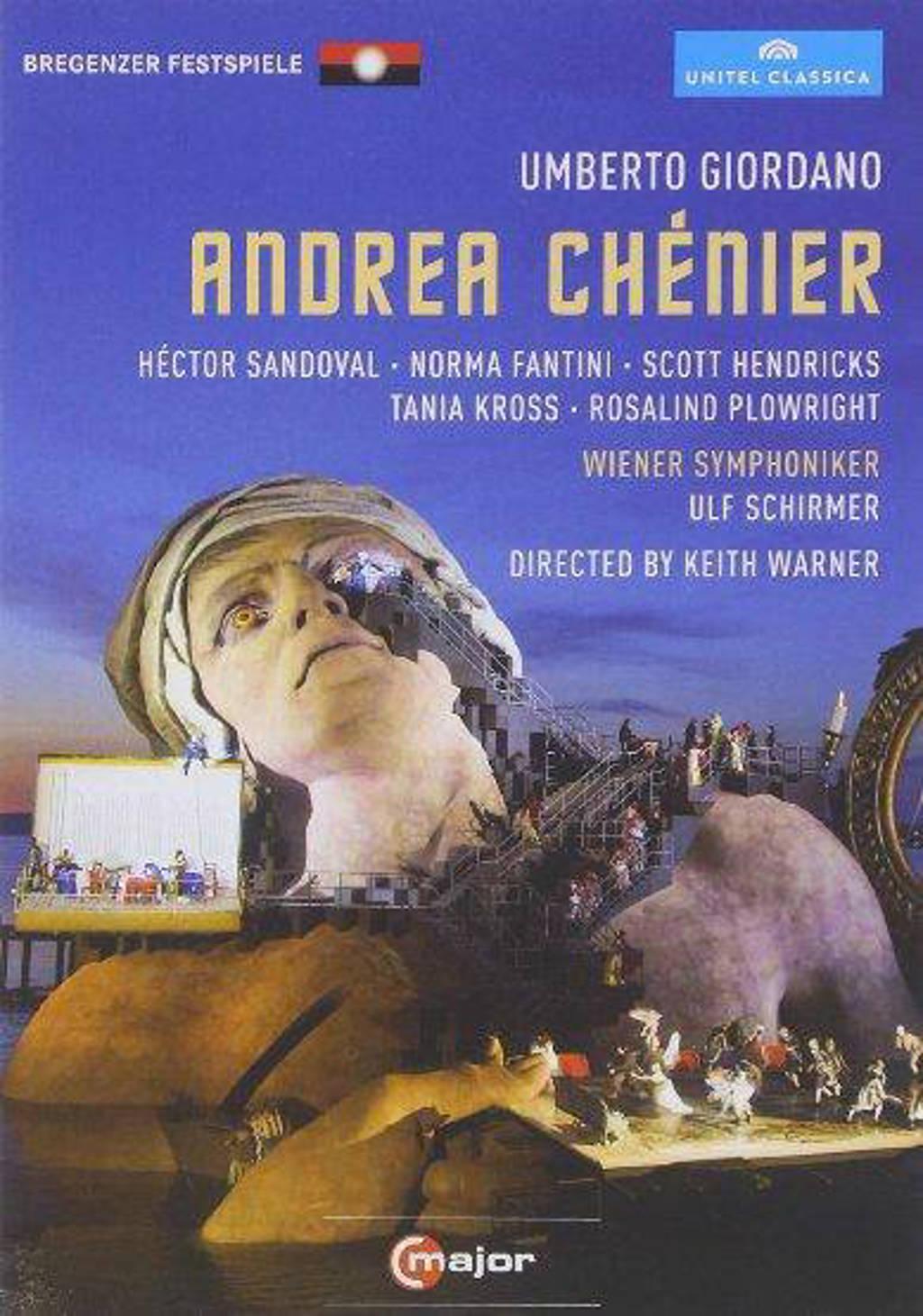 Sandoval,Hendricks,Fantini,Kross - Andrea Chenier, Bregenz 2011 (DVD)