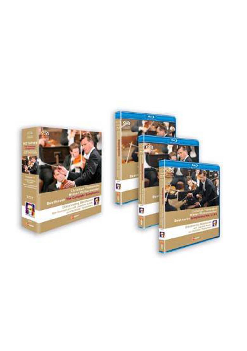 Wiener Philharmoniker - Thielemann Beethoven Sym.1-9 Br Box (Blu-ray)