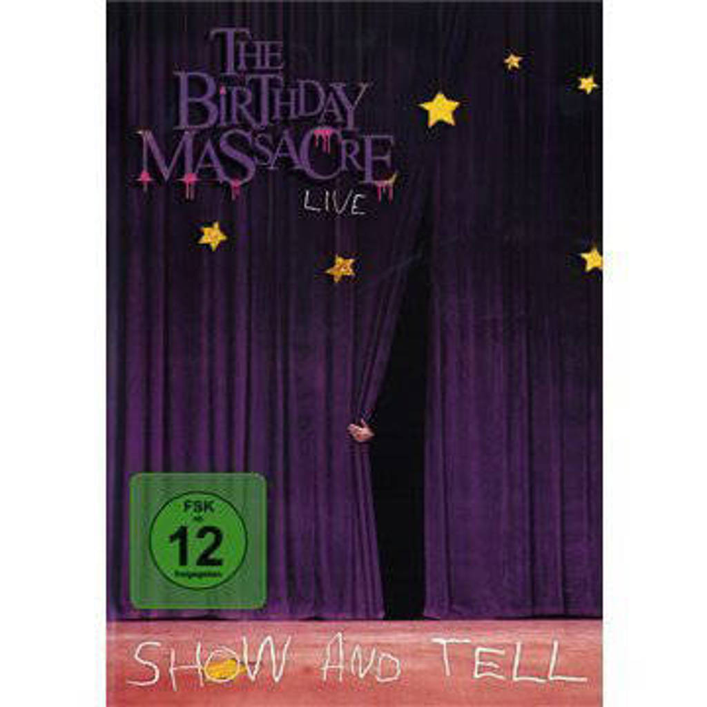 The Birthday Massacre - Show And Tell (DVD)