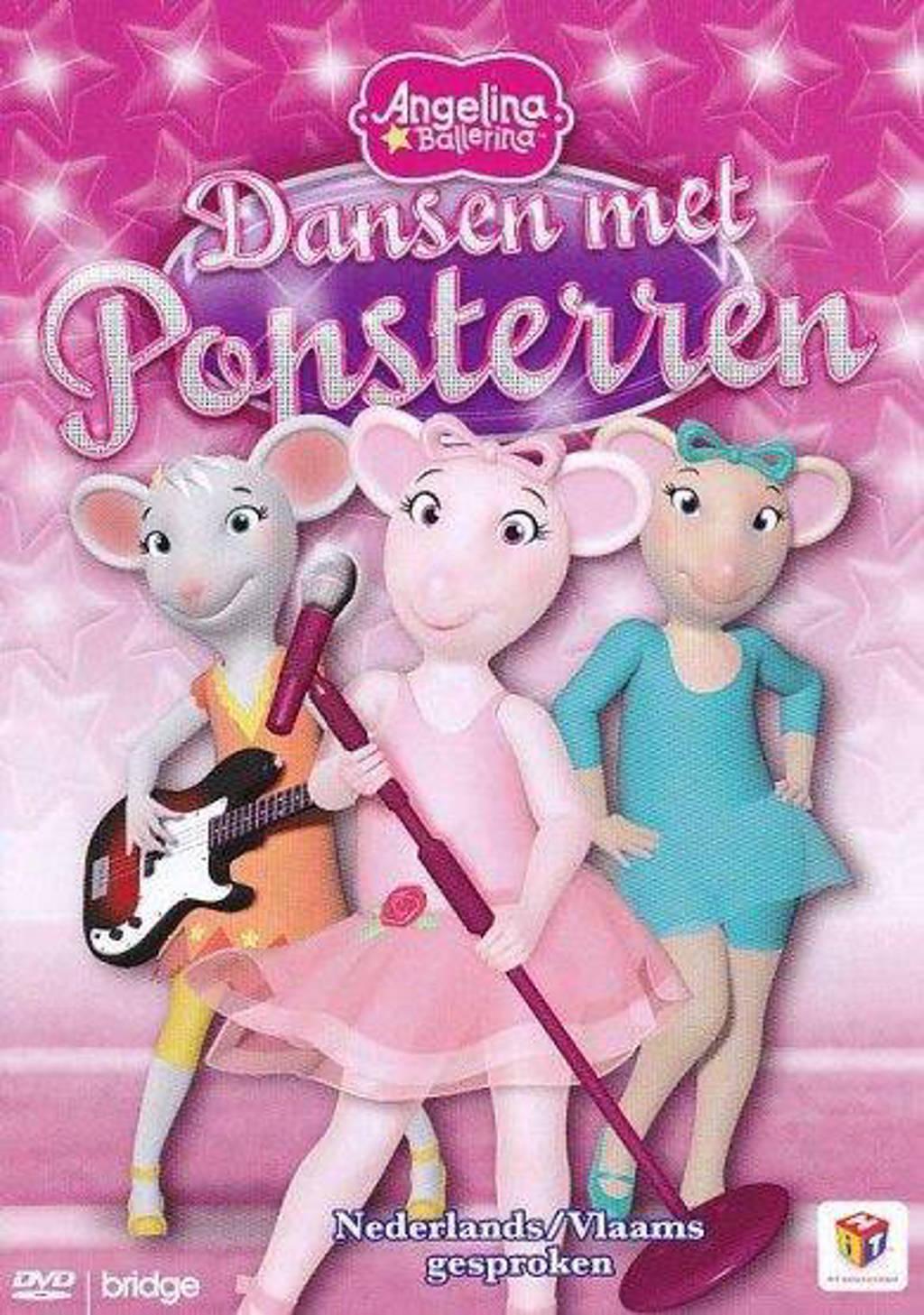 Angelina ballerina - Dansen met popsterren  (DVD)