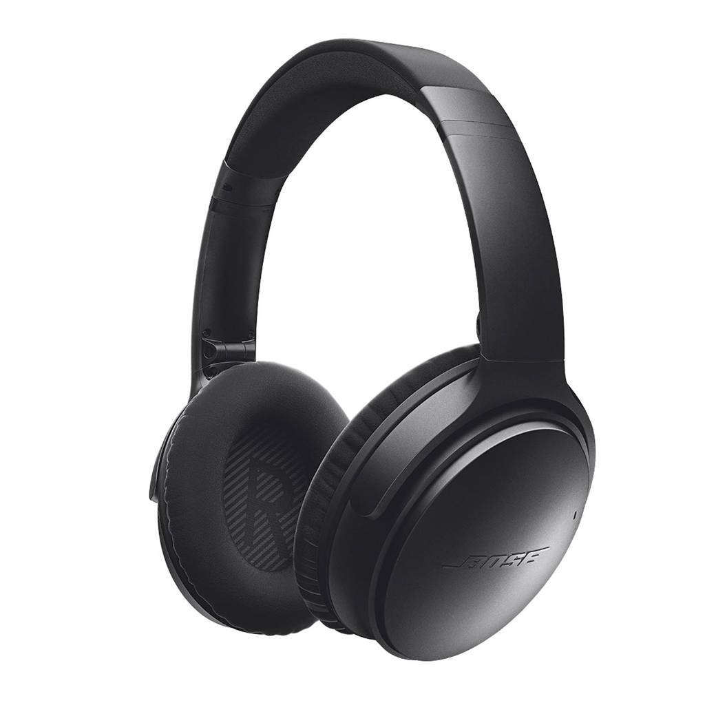 Bose QuietComfort 35 wireless II over-ear bluetooth koptelefoon zwart, Zwart