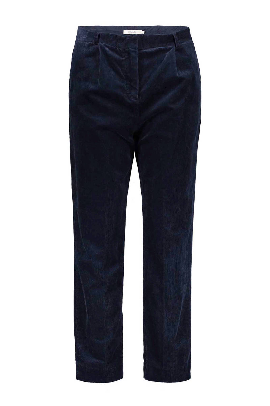 Sissy-Boy corduroy broek, Donkerblauw