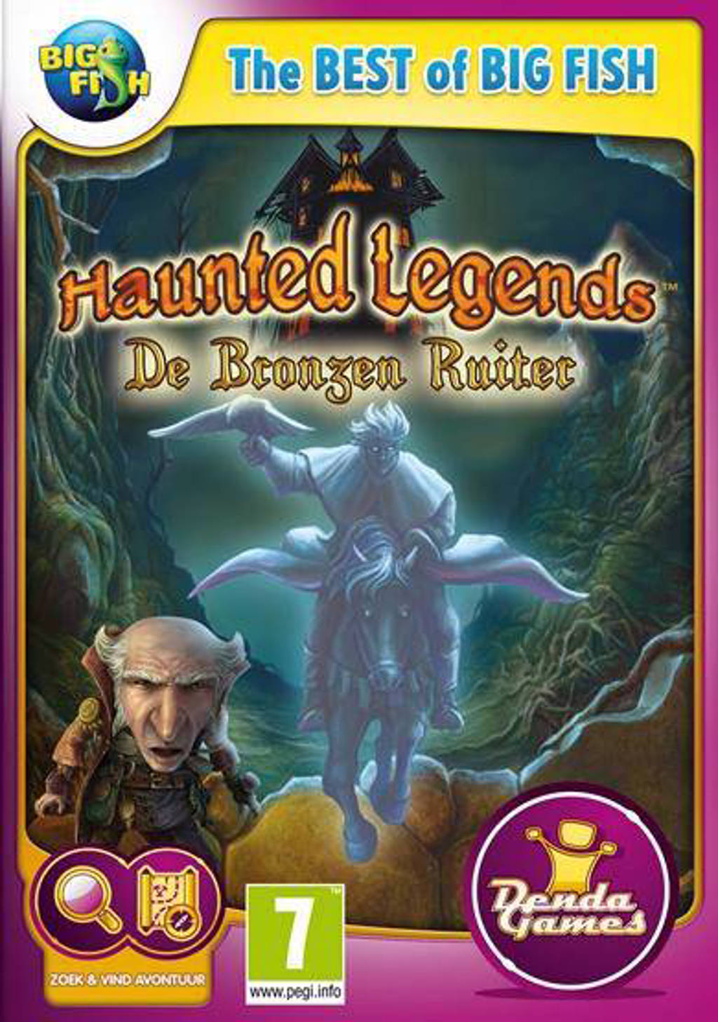 Haunted legends - De bronzen ruiter (PC)