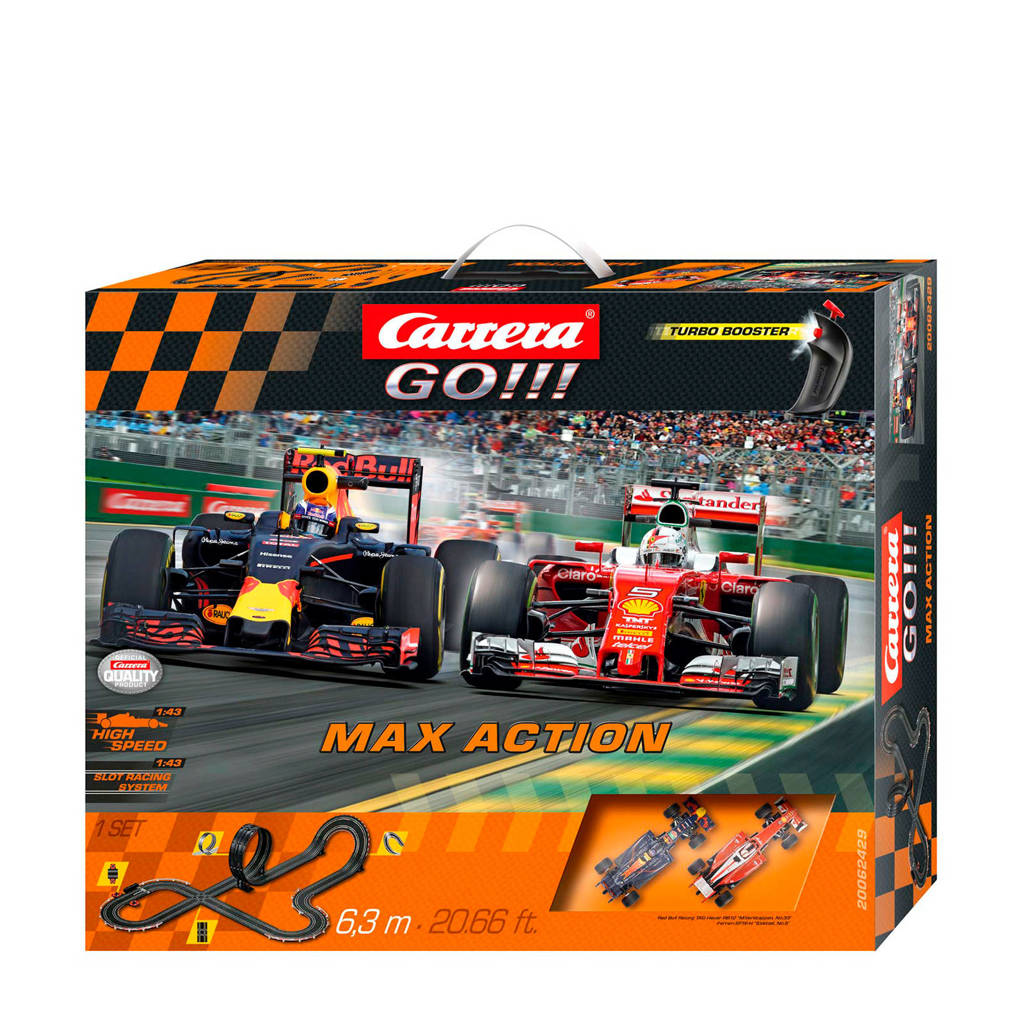Carrera Max Action GO Verstappen vs. Vettel racebaan