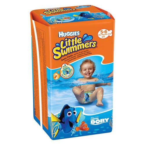 Huggies Little Swimmers Zwemluiers Maat-5-6 48plusmnd 11stuks