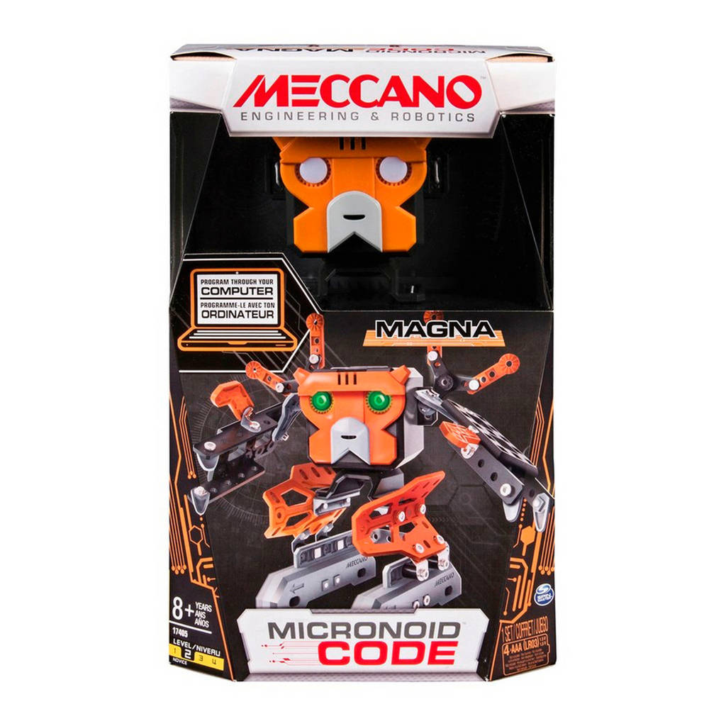 Meccano  micronoid code orange