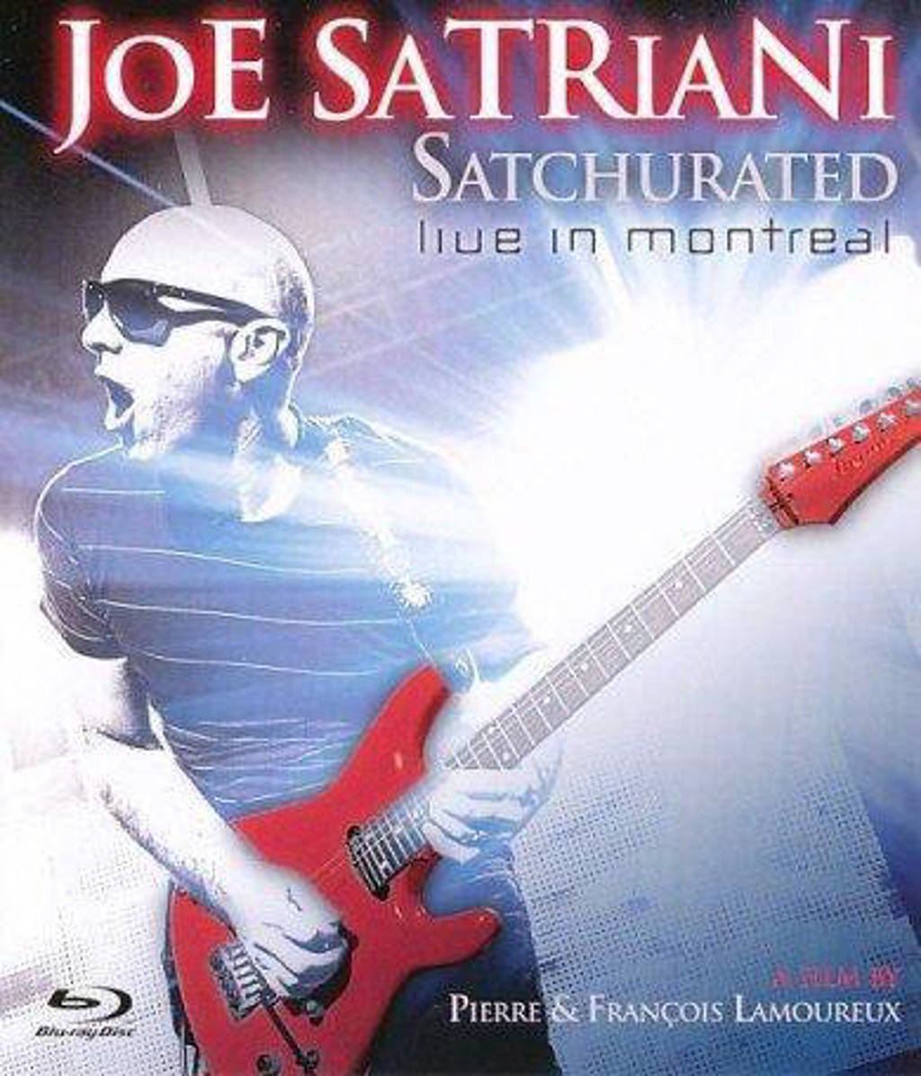 Joe Satriani - Satchurated: Live In Montreal (Blu-ray)