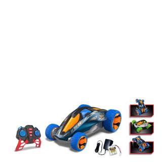 Psycho Gyro bestuurbare auto blauw