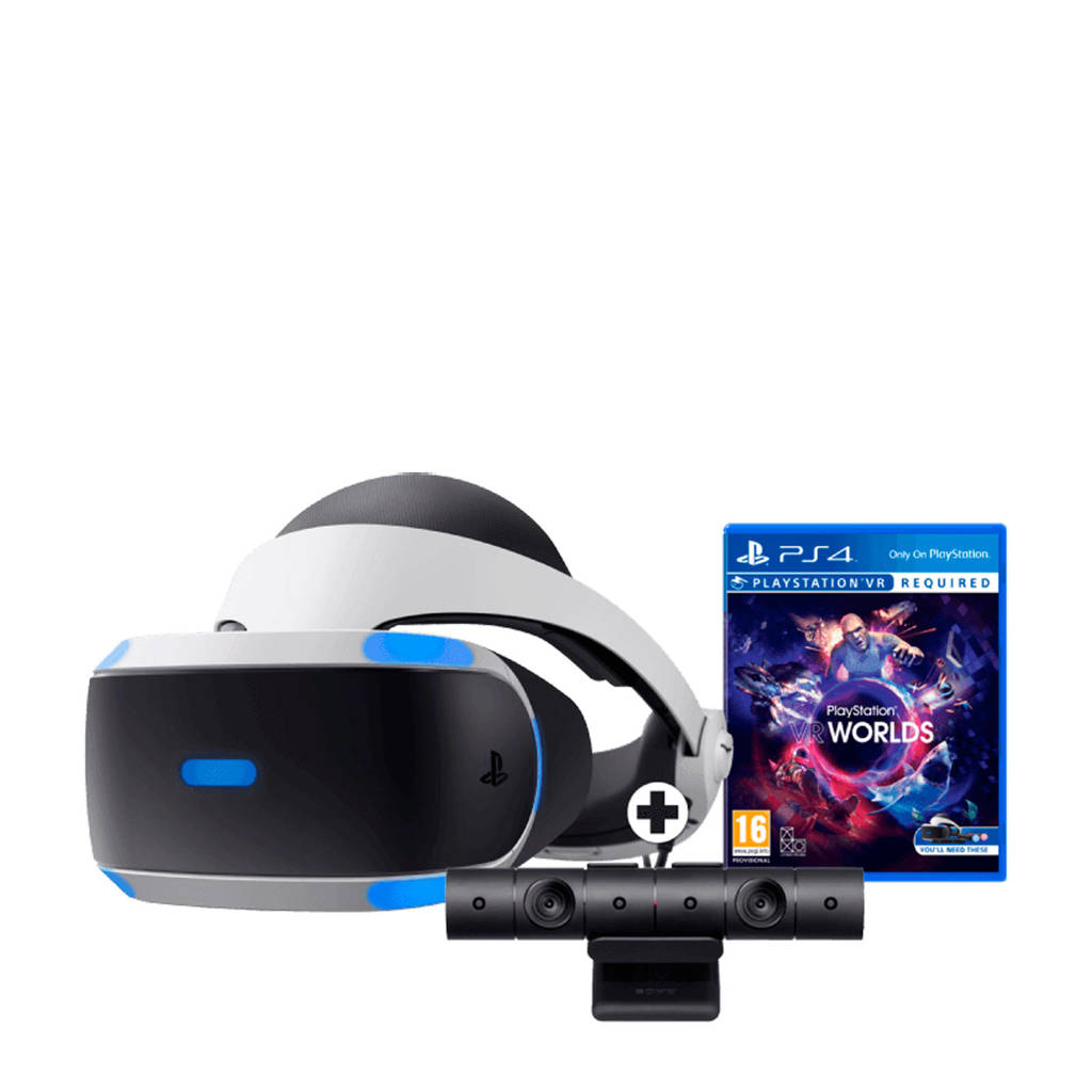 Sony PlayStation 4 VR + VR Worlds + PS4 camera, Wit