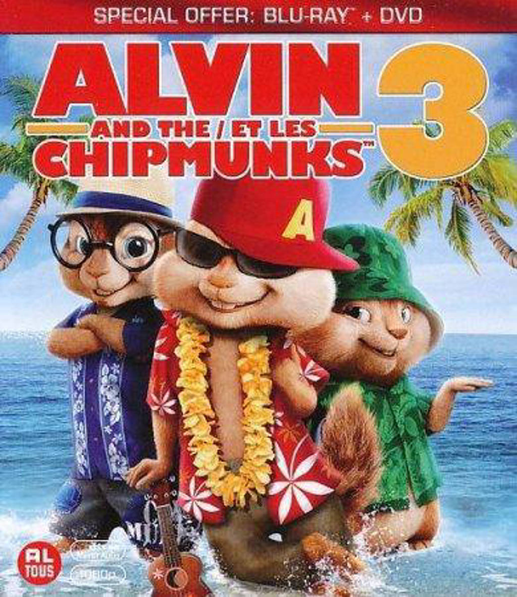 Alvin And The Chipmunks 3 Images alvin and the chipmunks 3 - chipwrecked (blu-ray)