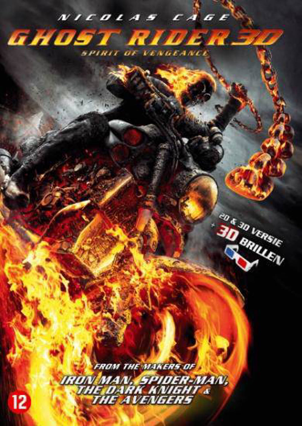 Ghost rider - Spirit of vengeance (DVD)