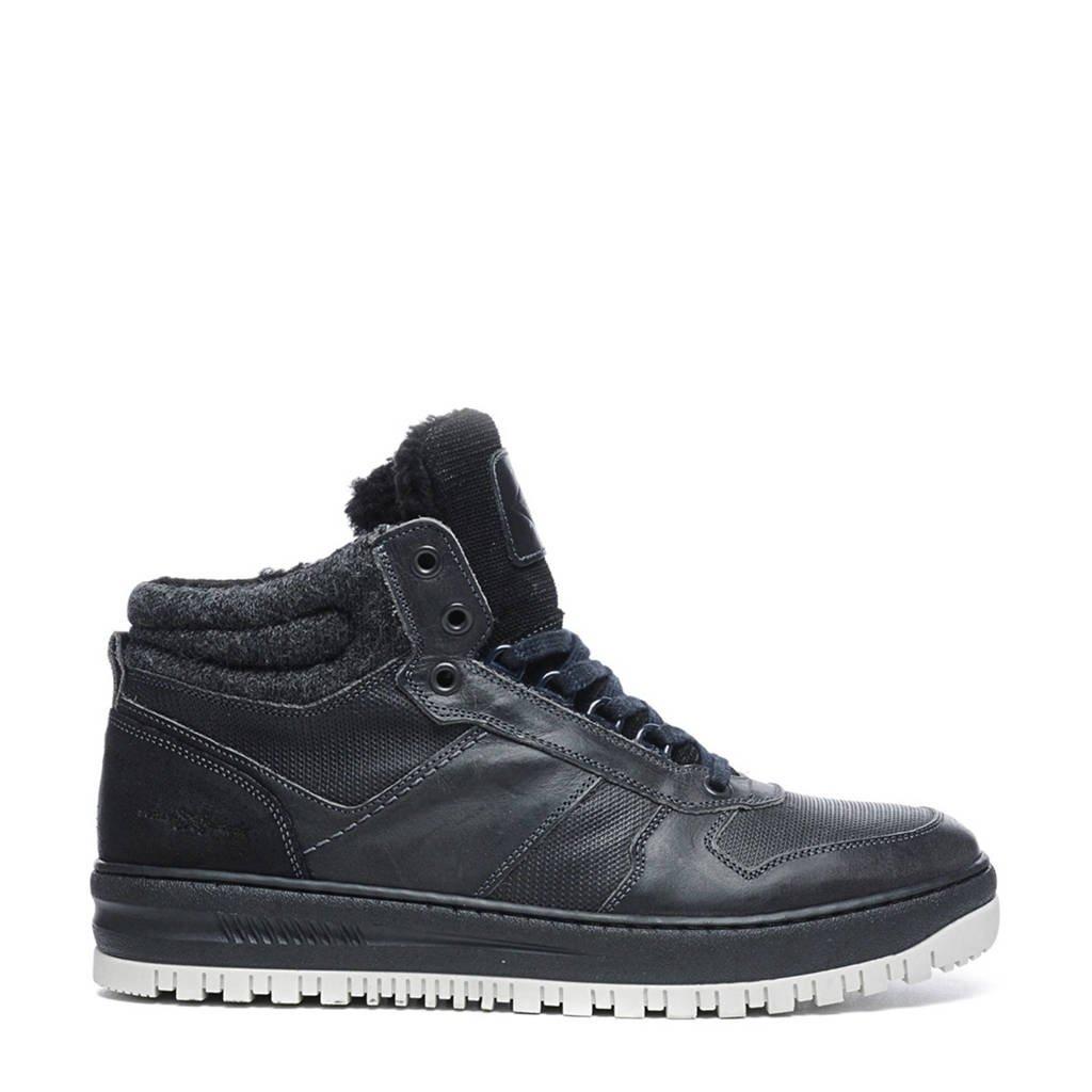 Manfield Leren Manfield Leren Sneakers Sneakers pqP1wF7