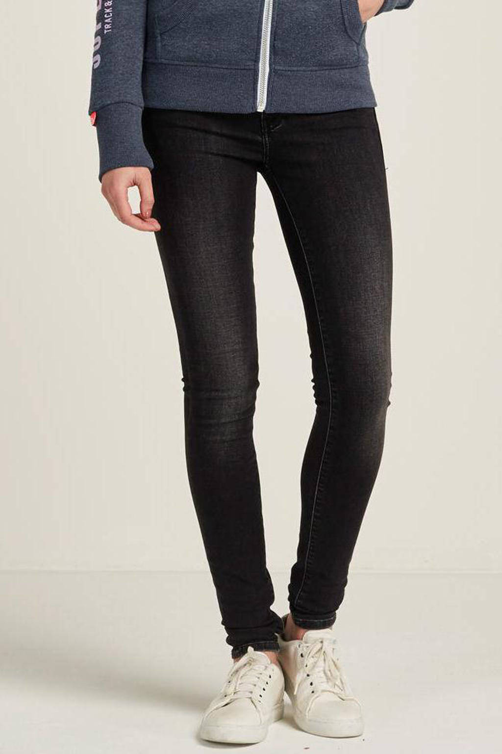 Cars Juno slim fit jeans black used, Black used