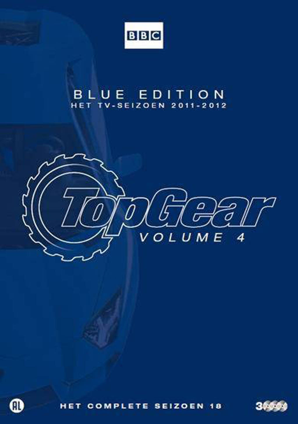 Top gear 4 - Seizoen 2011-2012 (DVD)